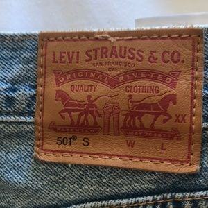 Levi's Jeans - Levi's 501 skinny high waisted worn once